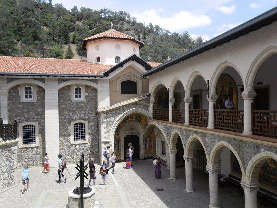 Pedoulas, Siprus: Внутренний двор