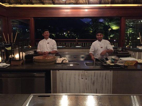 Bel Ombre, Seychellene: Chefs getting ready