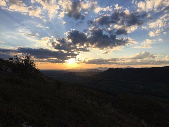 Province of Burgos, Spanje: Atardecer en Rebolledo de la Torre