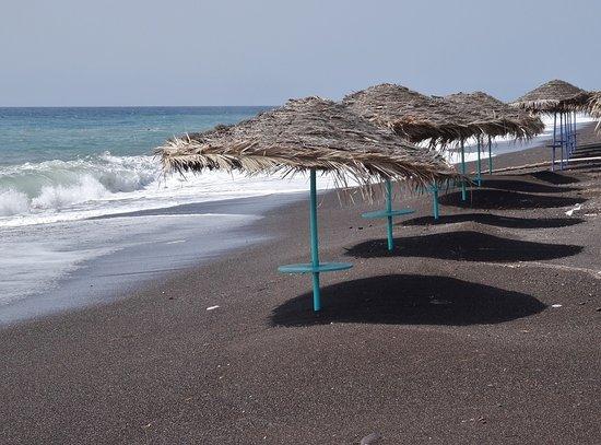Samson's Village: Beach area close to hotel.