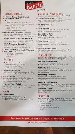 Ρίτσφιλντ, Μινεσότα: main menu
