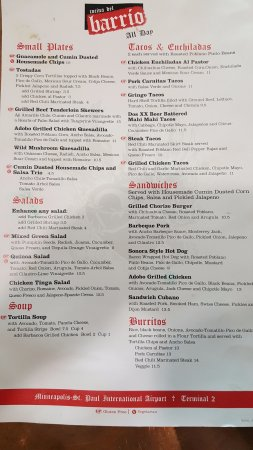 Richfield, MN: main menu