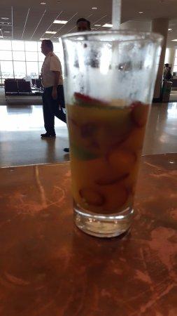 Richfield, MN: Enter The Dragon drink, already half empty...I was thirsty.