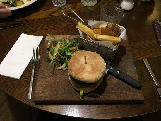Turriff, UK: Venison burger