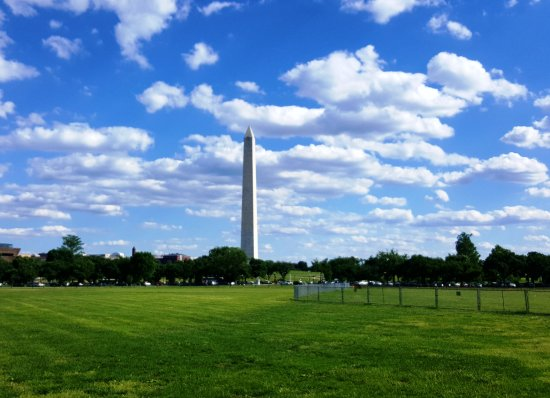 Washington DC, Distrito de Columbia: Monumento a Washington