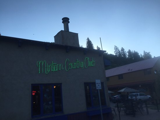 Minturn, CO: Front of the Restaurant
