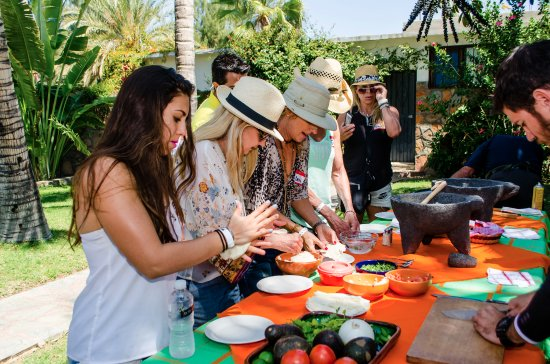 Todos Santos, México: You'll love learning how to make homemade tortillas, guacamole, and pico de gallo. ¡Delicioso!
