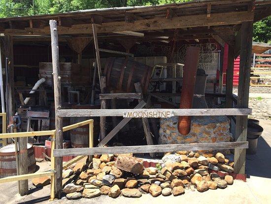 Lakemont, GA: Hillside Moonshine