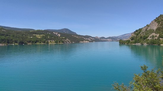 Lac Serre Poncon : Lac de serre poncon in der nähe von gap foto bild landschaft