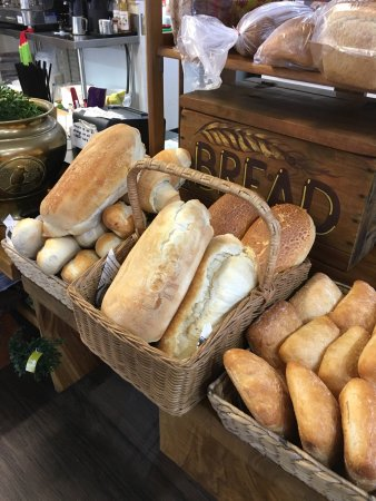 Freshly baked bread @witta general store