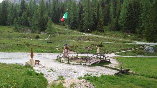 Province of Belluno, Italy: Monumento alle sorgenti del Piave