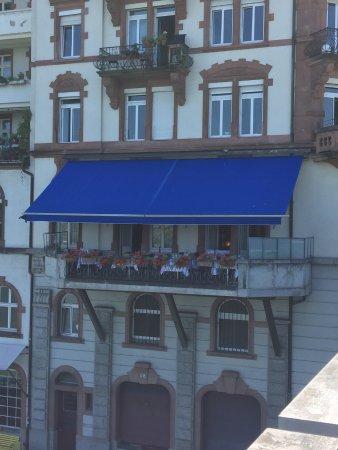Chez Donati: Bei schönem Wetter einfach sensationell!