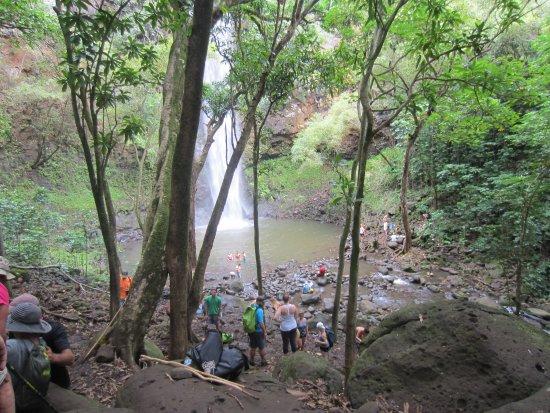 Kayak Adventures : Destination Secret Falls - a beautiful spot
