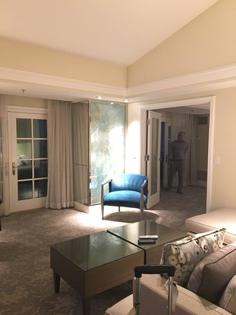 The Ritz-Carlton, Laguna Niguel: A wonderful clean, quiet 1 bedroom suite overlooking the pool.  Beach Butler service is the best