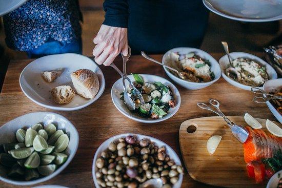 Lawson, Avustralya: food banquet