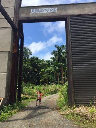 Kaneohe, HI: Jurassic World entrance