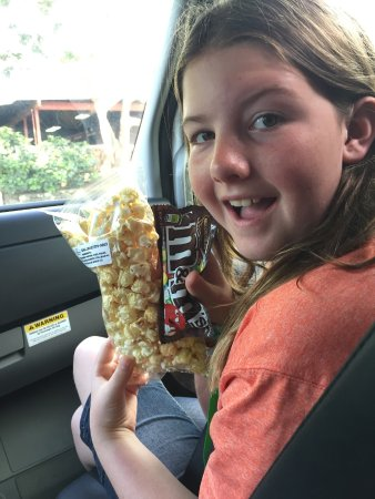 Kaneohe, HI: Yummy movie snacks!