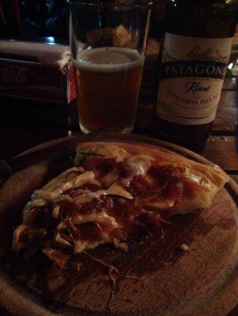 Pizza de queijo brie !!!! 😍