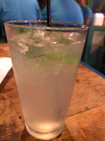 Bay Saint Louis, MS: cucumber cilantro rita cocktail