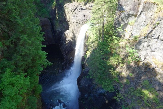 Campbell River, Canadá: Elk Falls