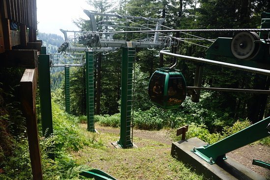 Klamath, Californien: Sky Trail Tram