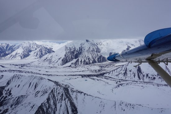 Air Borne View Of The Snow Capped Mountains Picture Of