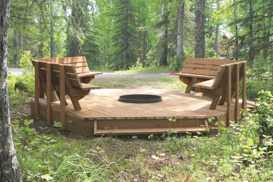 Fire Pit Deck Picture Of Kenai