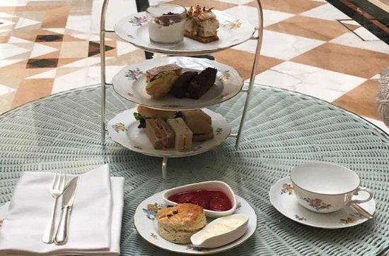 Experiência exclusiva de chá da tarde...