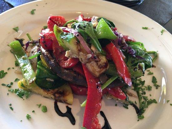 Savoury's: Veggie stack - very fresh vegatables!
