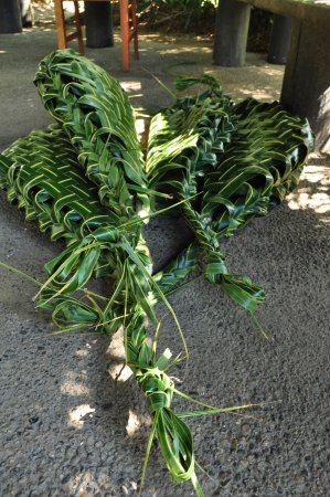 ULTIQA at Fiji Palms Beach Resort : The baskets made from palm leaves for the traditional Fijian Lovu