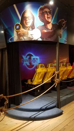Williams, AZ: XD Dark Ride- Our Full Motion Interactive Theater Ride