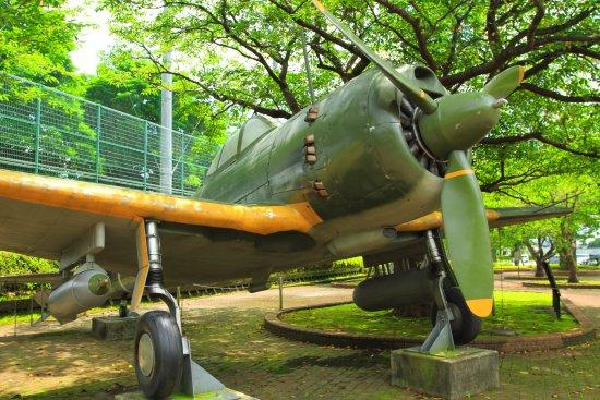 Tokko Friedensmuseum Chiran (Kamikaze-Gedenkstätte): 映画で使われた戦闘機