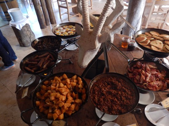 Kapama Southern Camp: Amazing food selection at every meal