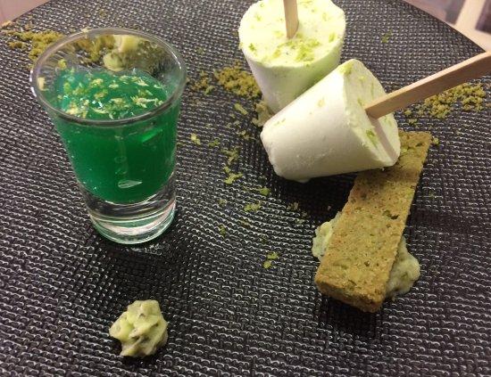 Saint-Jean-de-Sixt, Fransa: dessert Mojito