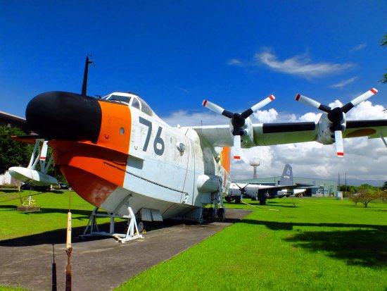 Kanoya, Japan: 屋外展示の哨戒機