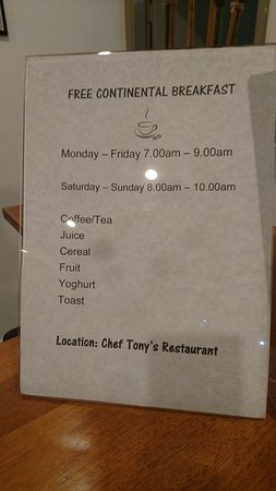 Bomaderry, Australia: Breakfast included was very nice - had bacon, eggs and baked beans too!