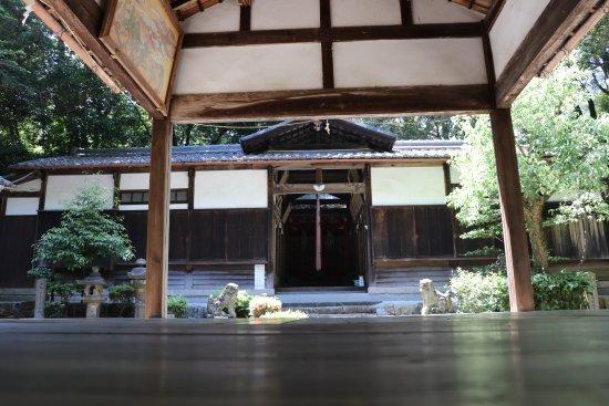 Seika-cho, Japan: 新殿神社 正面