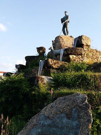 Aldeadavila de la Ribera, İspanya: Homenaje al ultimo cabrero de Las Arribes