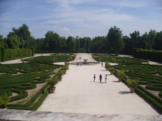Reggia di Colorno: Parco: vista frontale dal balcone