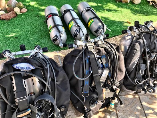 Custo Diving: Preparing for the planned decompression dive