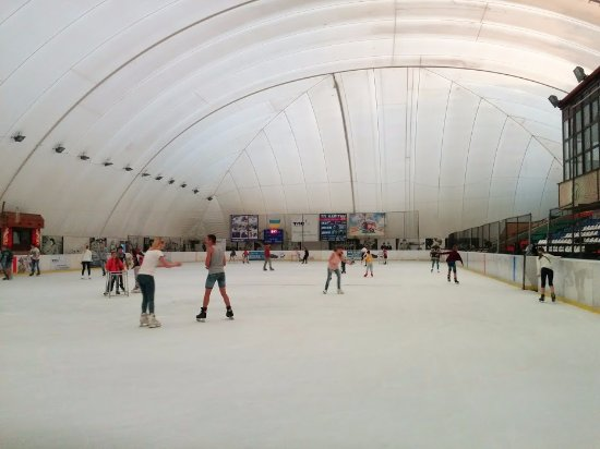 ‪Ice Arena Ice Skating Rink‬
