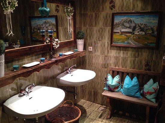 Hotel Jenewein: zelfs de damestoilet is een bezoekje waard!