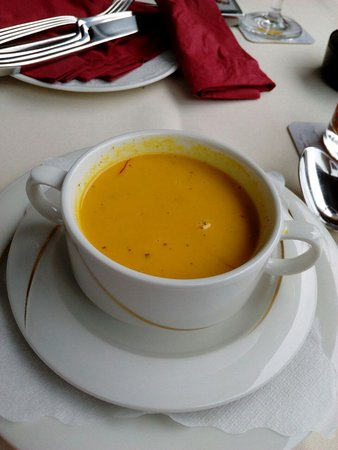 Herzberg am Harz, Niemcy: Ingwer-Chilli-Suppe ... hmmm