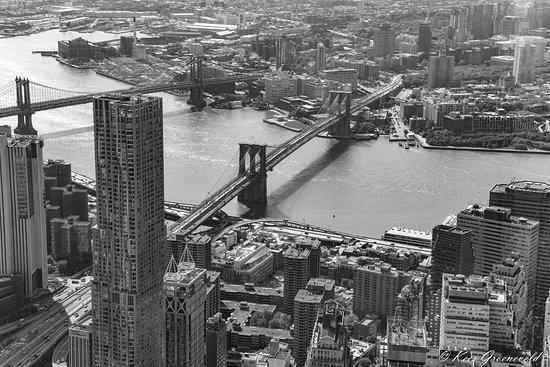 The French Quarters Guest Apartments: Uitzicht vanaf ONE WTC. Prima bereikbaar via metro.