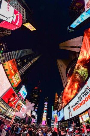 The French Quarters Guest Apartments: Times Square om de hoek. Je kunt er prima dineren.