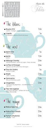 Decazeville, Frankreich: Carte Du restaurant