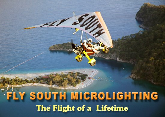 Ovacik, Turkey: Flysouth microlighting