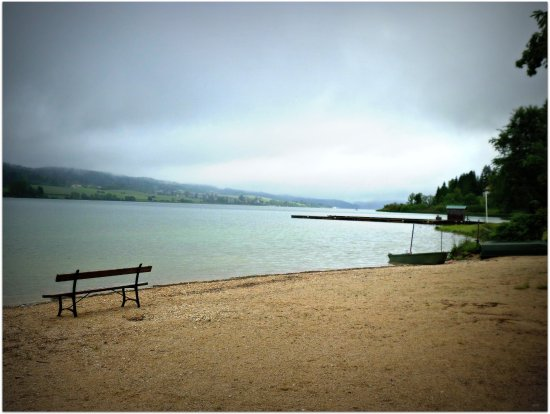 Malbuisson, France: Le lac