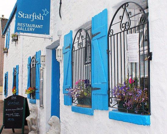 Tarbert, UK: The restaurant entrance
