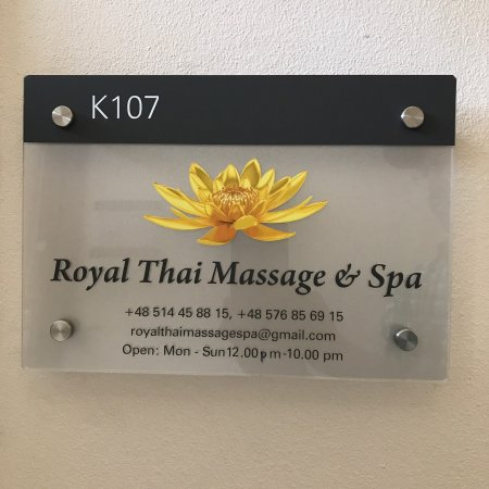 Royal Thai Massage and Spa